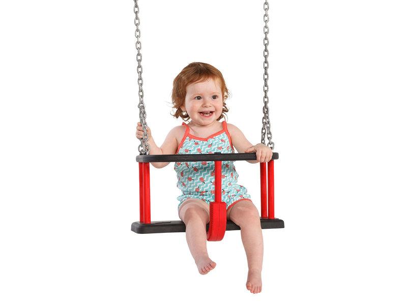 Babyschommel Rubber Basic incl. kettingen