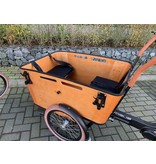 Vogue  E-bike bakfiets Carry black/brown Middenmotor