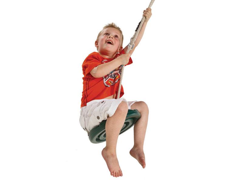 Kunststof schotelschommel voor kabelbaan Para