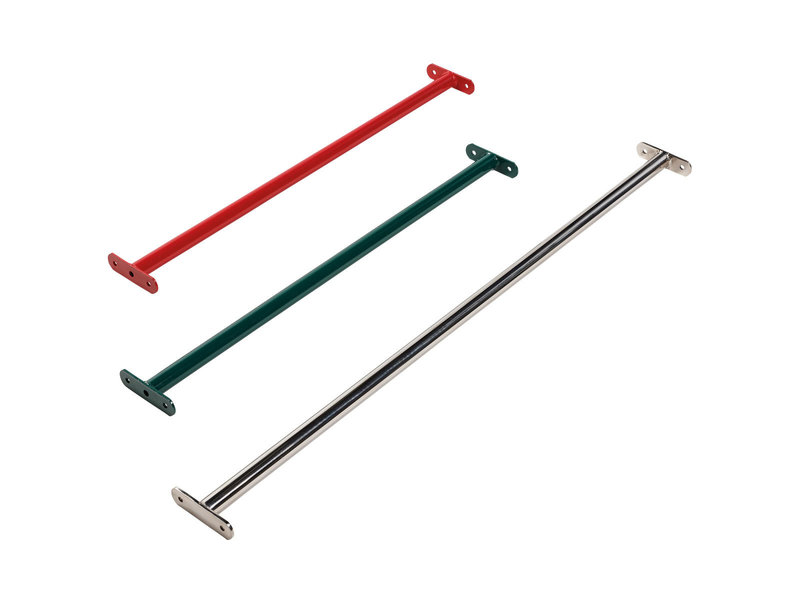 Metalen duikelstang - 900 mm - rood