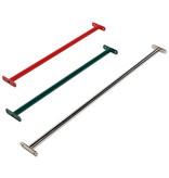 Metalen duikelstang - 1250 mm - rood