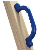 Handgrepenset in kunststof - 250 mm - blauw