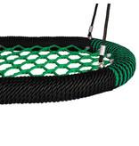 Nestschommel Oval Pro groen/zwart openbaar gebruik