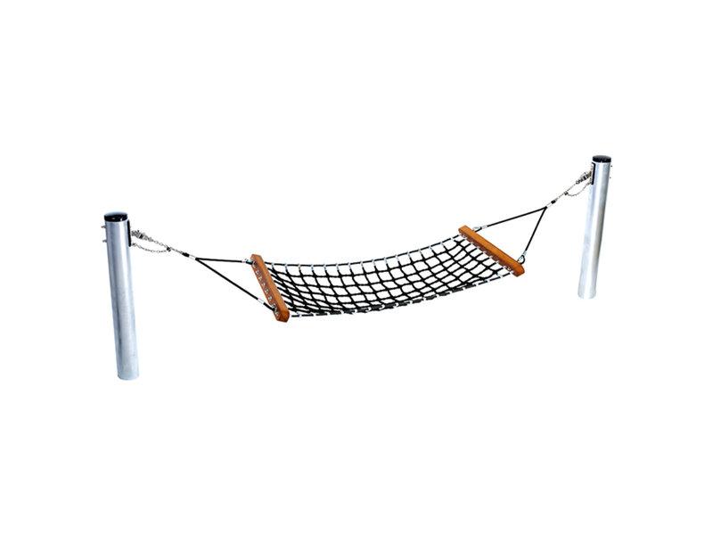 Hangmat in gewapend touw 'hammock'