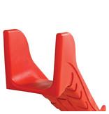 Rotatiegevormde Glijbaan voor platformhoogte 60cm gebruik Openbaar