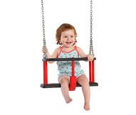 Babyschommel Rubber Basic met Gegalvaniseerde Kettingen Openbaar