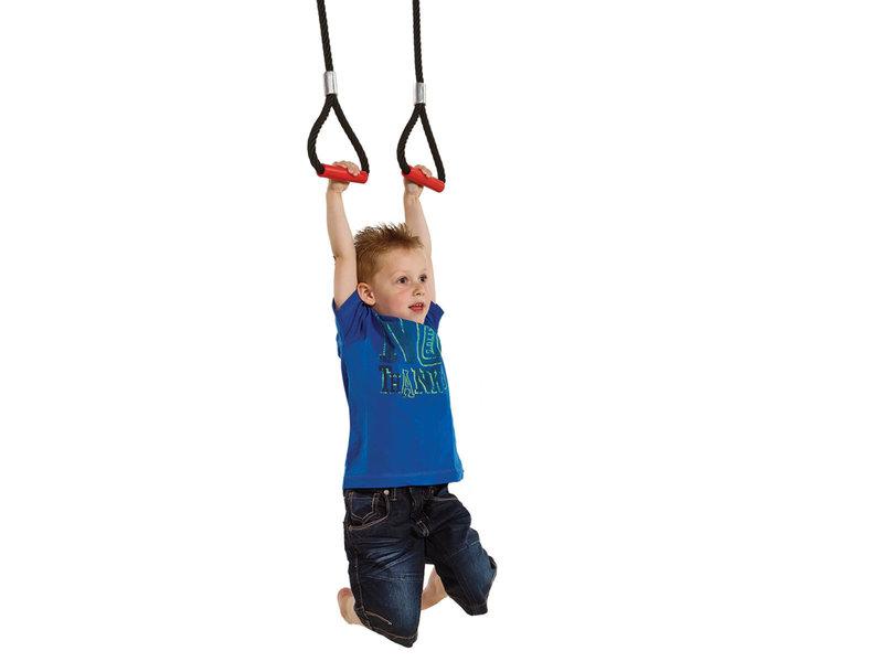 Turnringen in gewapend touw
