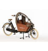 Bakfiets.nl Tent Cargobike short all-open Tweed