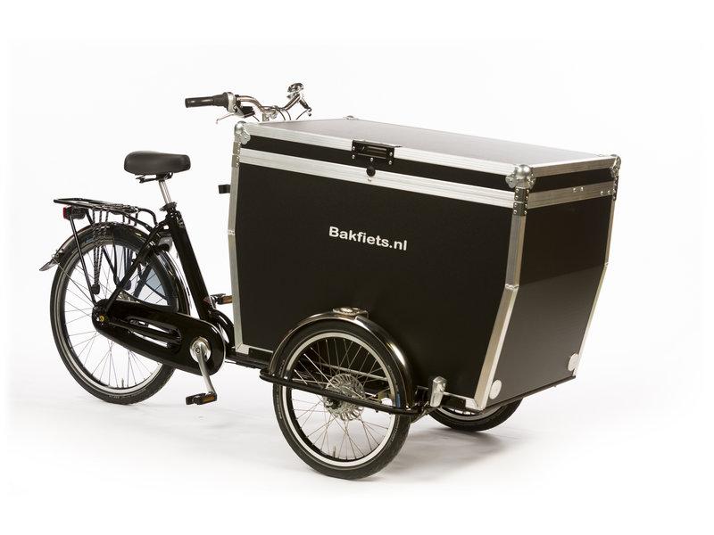 Bakfiets.nl CargoTrike Classic Wide Steps elektrische bakfiets