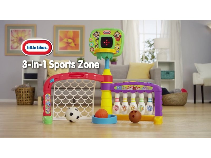 Little Tikes 3 in 1 Sports Zone