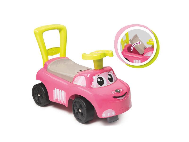 Smoby Loopauto roze