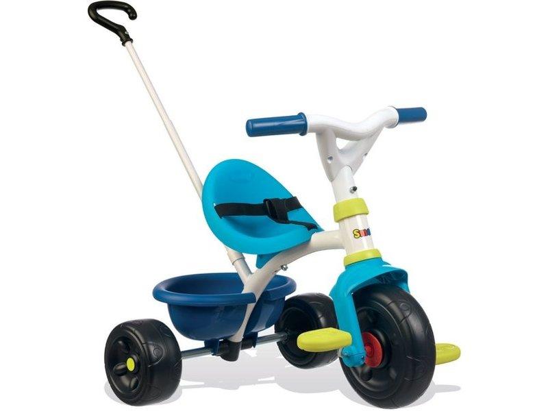 Smoby Be Fun blauw/roze - Driewieler
