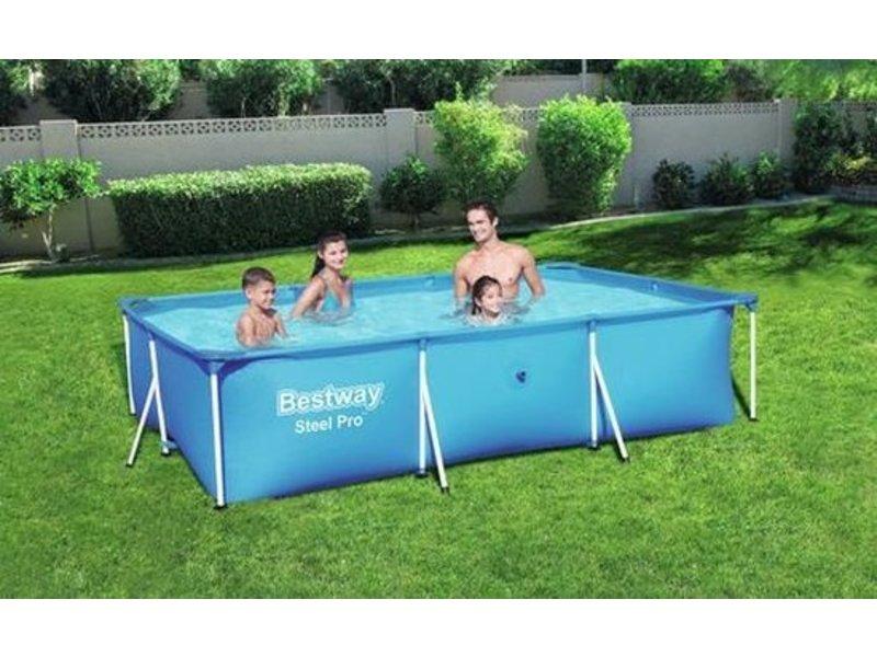Bestway Steel Pro 300 x 201 x 66 cm - Opzetzwembad zonder pomp