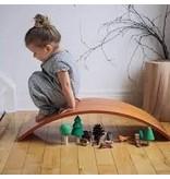 Kinderfeets Balance Board Zwart