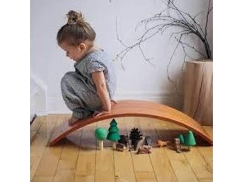 Kinderfeets Balance Board Sage Wash