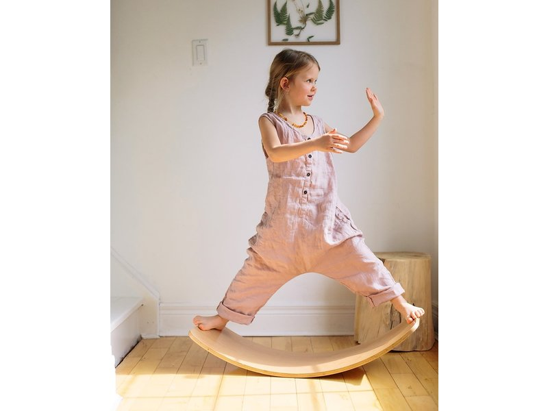 Kinderfeets Balance Board Rose