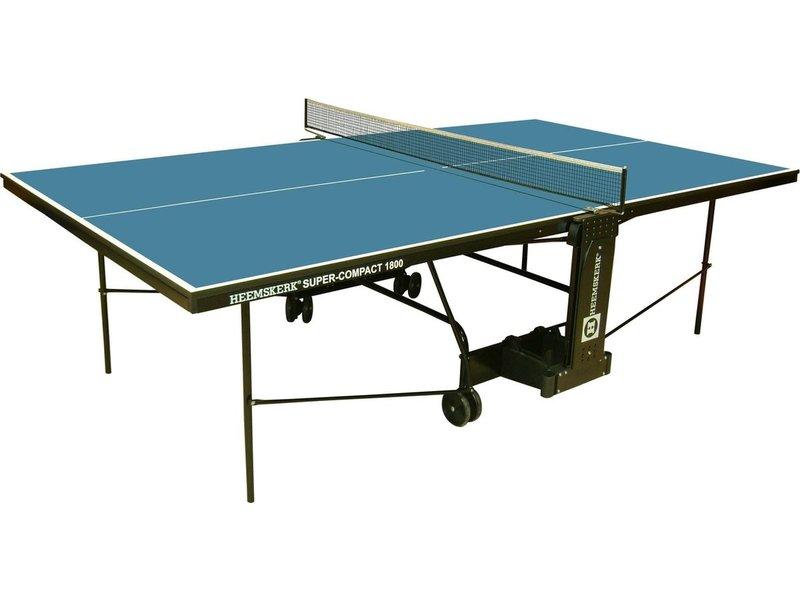 Heemskerk Rol compact 1800 outdoor tafeltennistafel blauw