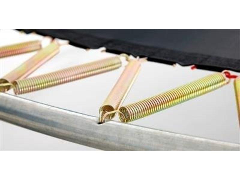 BERG Trampoline Champion InGround 430 + Safety Net Deluxe Groen