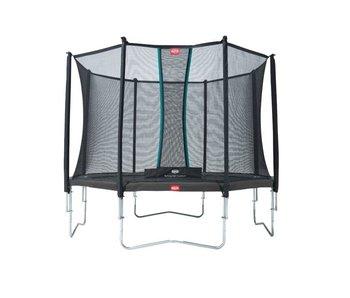 BERG Favorit Regular 330 cm + Safety net Comfort Grijs