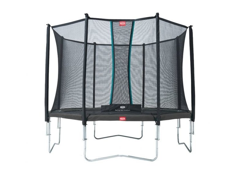 BERG Trampoline Favorit Regular 330 + Safety net Comfort Grijs