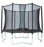 BERG Trampoline Favorit Regular 430 cm + Safety net Comfort Grijs