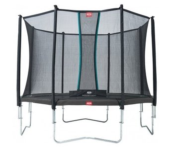 BERG Favorit Regular 430 cm + Safety net Comfort Grijs
