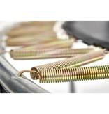 BERG Trampoline Elite InGround 430 Levels + Safety Net DLX XL Grijs