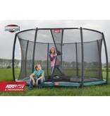 BERG Elite inground trampoline 430cm Deluxe XL Rood