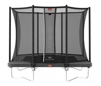 BERG Ultim Favorit Regular 280 x 190 cm rechthoekig met Safetynet Comfort  Grijs