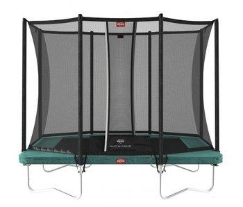 BERG Ultim Favorit Regular 280x190cm rechthoek + Safetynet Comfort Groen