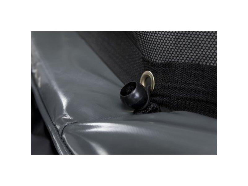 BERG Trampoline Grand Elite 520x345cm Ovaal + Safety Net Deluxe XL Grijs