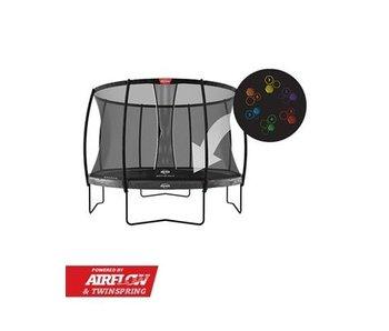 BERG Elite Regular 430 Levels + Safety Net DLX XL Grijs