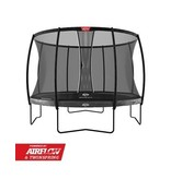 BERG Trampoline Elite Regular 430 + Safetynet Deluxe XL Grijs