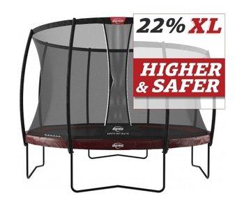 BERG Elite Regular 430 + Safetynet Deluxe XL Rood