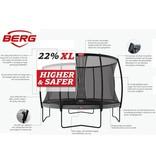 BERG Trampoline Champion Regular 430 + Safety net Deluxe XL Grijs