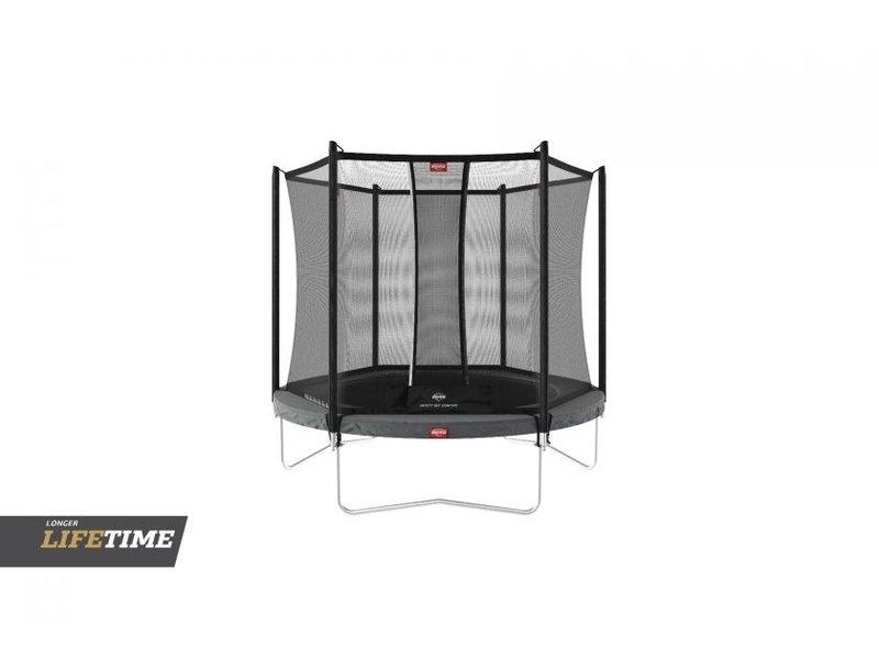 BERG Favorit 270 trampoline + Safetynet Comfort  Grijs