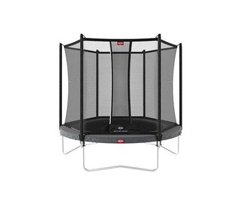BERG Favorit Regular 200 cm + Safety net comfort Grijs