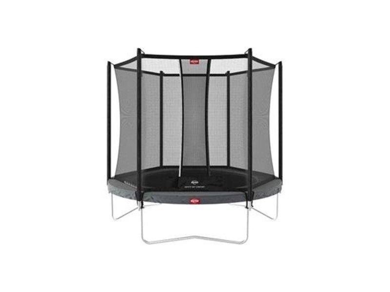 BERG Trampoline Favorit Regular 200 cm + Safety net comfort Grijs