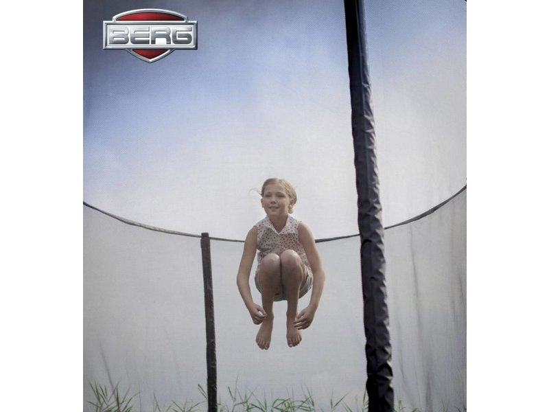 BERG Trampoline Grand Champion 350x250cm + Safety Net Deluxe  Groen