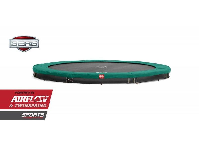 BERG Trampoline Champion InGround 380 cm Groen