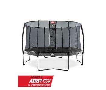 BERG Elite Regular 330 + Safety Net Deluxe Grijs/Groen/Rood