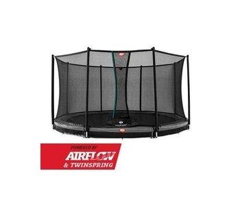 BERG Champion InGround 330 + Safety Net Comfort Grijs/Groen