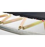 BERG Trampoline Champion Regular 430 + Safety Net Comfort Grijs