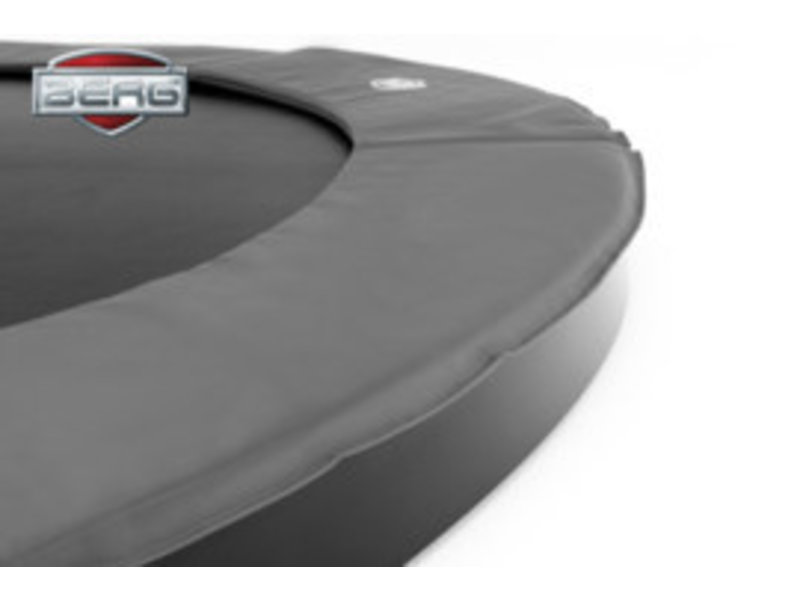 BERG Trampoline Champion FlatGround 380 cm Grijs/Groen
