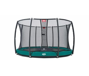 BERG Elite InGround 330 + Safety Net de Luxe Groen