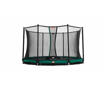 BERG Favorit InGround 330 cm + Safety Net Comfort Groen