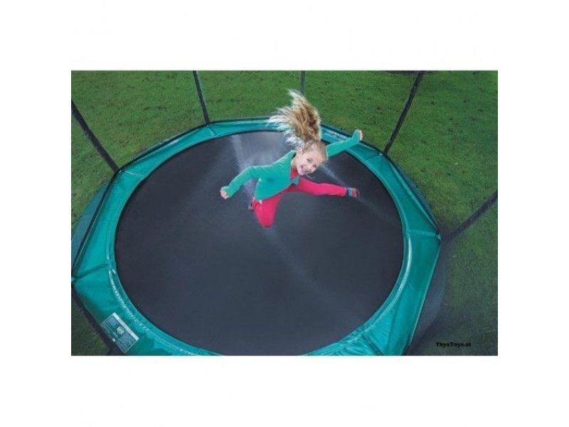 BERG Trampoline Favorit InGround 270 cm + Safety Net Comfort Groen