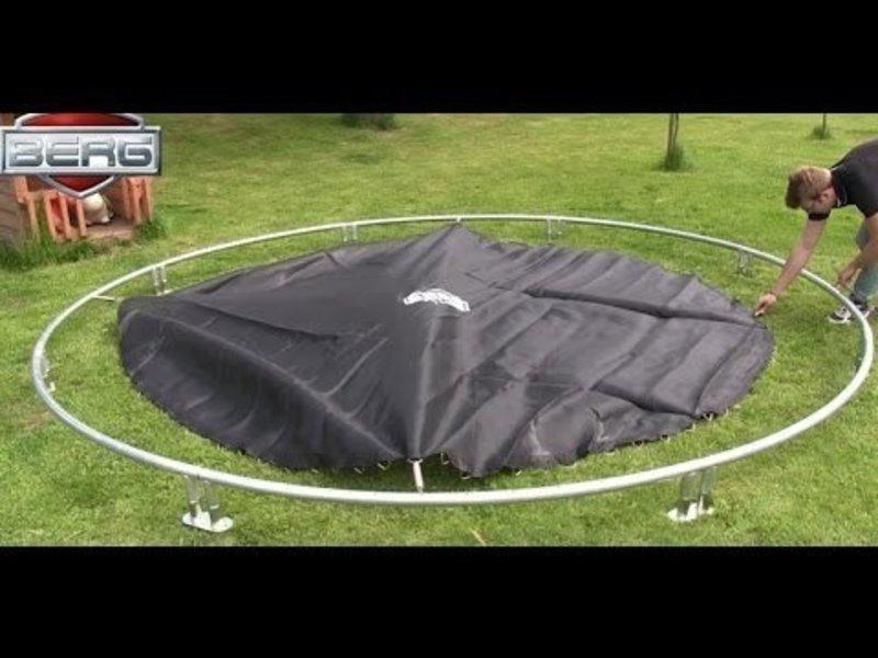 BERG Trampoline Favorit InGround 430 cm Groen