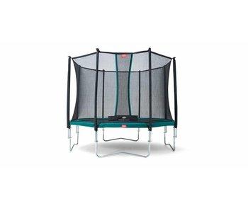 BERG Favorit Regular 330 cm + Safety net Comfort Groen