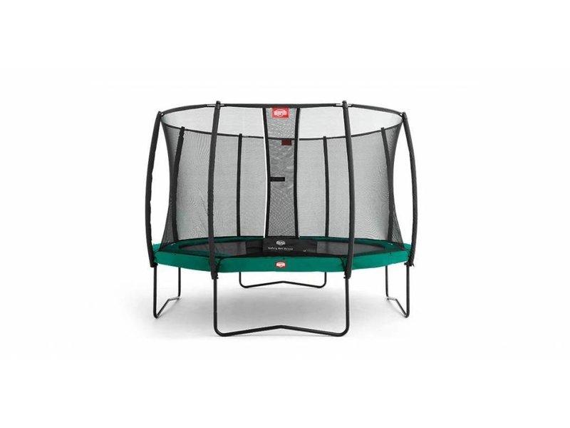 BERG Trampoline Champion Regular 330 + Safety Net Deluxe Groen